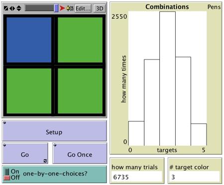 4-Blocks NetLogo model
